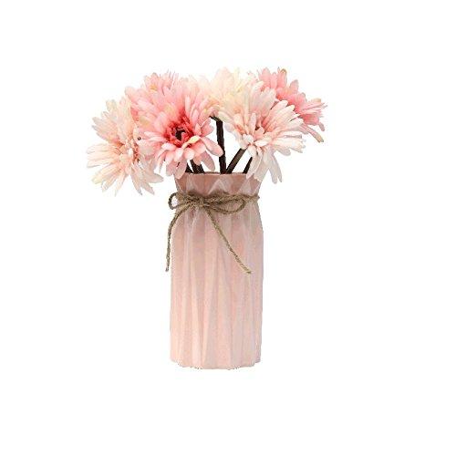 エミュレーションフラワー花瓶花スイングin the living room potted flowers floral teaバルコニーDecorated in African Daisyコンボキット、1 B078HZX9RC