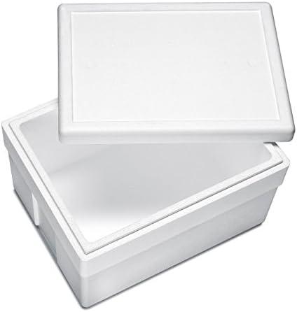 Premium poliestireno Caja/aislante Caja – 540 x 420 x 320 mm (45 ...