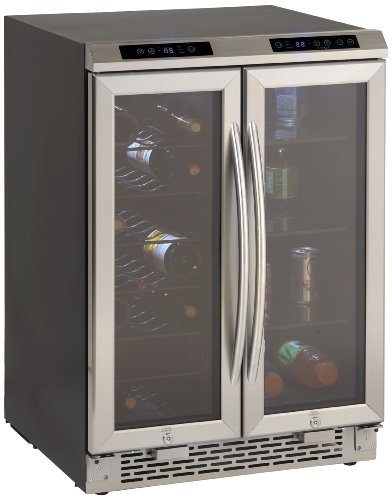 Avanti WBV19DZ Side by Side Dual Zone Wine/Beverage (Avanti Dual Zone Wine Cooler)