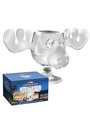 Officially Licensed National Lampoons Christmas Vacation Glass Moose Mug - SINGLE Mug Christmas Moose Mugs