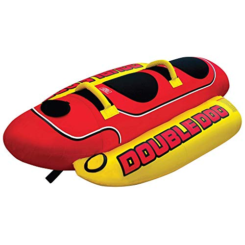 Airhead Double Dog | 1-2 Rider Towable Tube for Boating