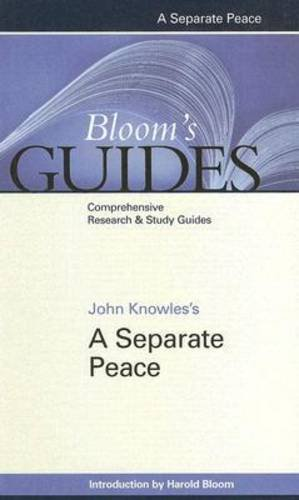 John Knowles's a Separate Peace (Bloom's Guides (Hardcover)) pdf epub