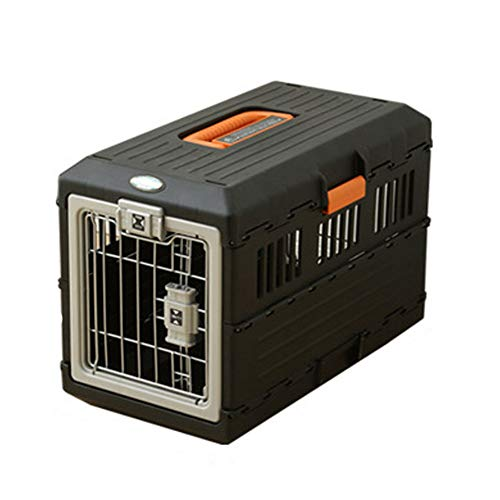868 Air - XIAOAN Pet Carrier Airline Approved Pet Carriers Hard-Sided Carriers for Dog & Cat Foldable Air Box Portable Pets Outing Shipping Cage Travel Box Transport Box Air Carrier Hard Cover,40.347.868.6cm