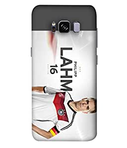 ColorKing Football Lahm Germany 01 Multi Color shell case cover for Samsung S8 Plus