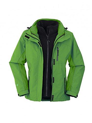 Maul Mujer Trekking 3 en 1 chaqueta doble Chaqueta Cazadora ...