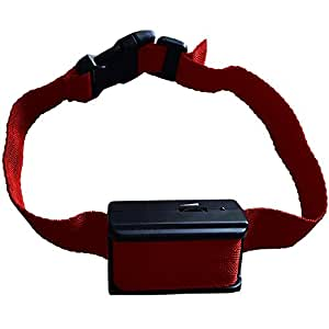 [New 2017 Version] Bark Collar TBI w/Upgraded Chip. BEST Dog Shock / Vibration Anti-Barking Collar. No Bark Control w/5 Levels for Small / Medium / Large Dogs / Electronic Pet Safe Stop Device, Red