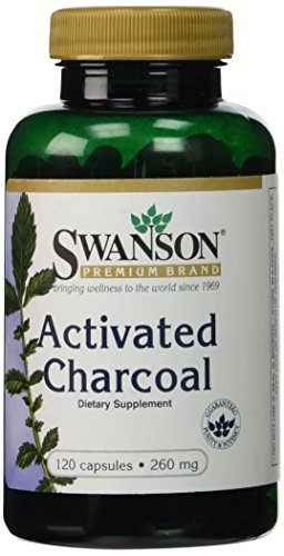 Activated Charcoal Caps Swanson Premium