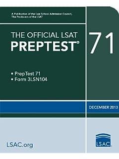 The official lsat preptest 70 oct 2013 lsat law school the official lsat preptest 71 malvernweather Image collections