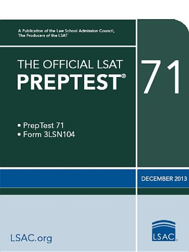 The Official LSAT PrepTest 71