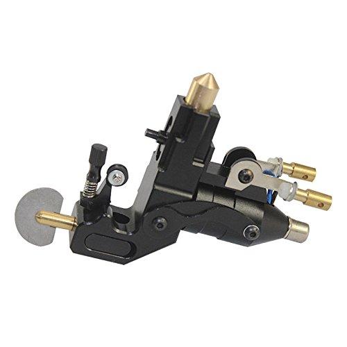 TBvechi Aluminum King Kong Tattoo Machine Rotary Gun Motor for Liner Shader Black (Motor Silent)