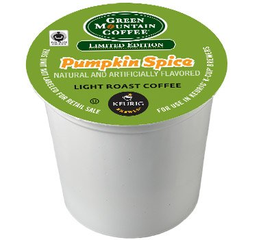 192 Count, Green Mountain Coffee Pumpkin Spice K-cups by Green Mountain Coffee