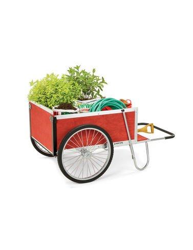 Gardener's Supply Garden Cart, Large, Red (Vermont Cart Garden)