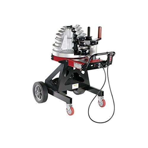 Gardner Bender B2000 Cyclone Electric Powered Bender, ½ - 2 in. EMT, Rigid, Rigid Aluminum & IMC Conduit, & ½ - 1½ in. PVC-Coated Conduit, No Shoe Group, Red & Black