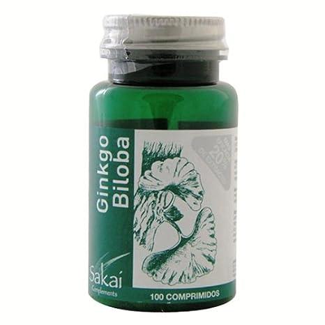 SAKAI GINKGO BILOBA 100 Comprimidos: Amazon.es: Salud y ...