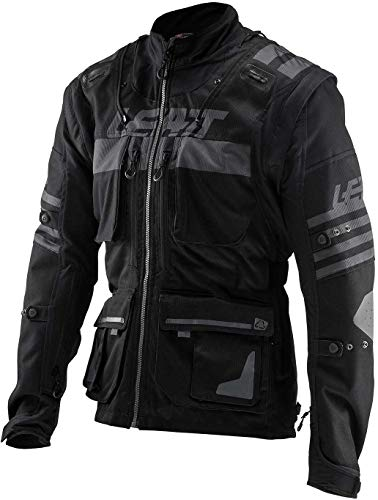 Leatt GPX 5.5 Enduro Riding Jacket-Black-S ()