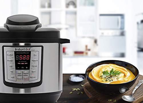 Instant Pot LUX60V3 V3 6 Qt 6-in-1 Multi-Use Programmable Pressure Cooker, Slow Cooker, Rice Cooker, Sauté, Steamer, and Warmer