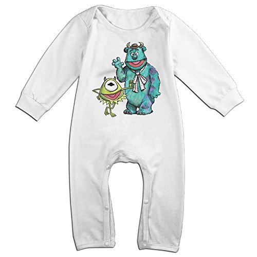 Vinda Cute Cartoon Cute Character Climbing Clothes For Infant White Size 18 Months - Talk Dirty Costume
