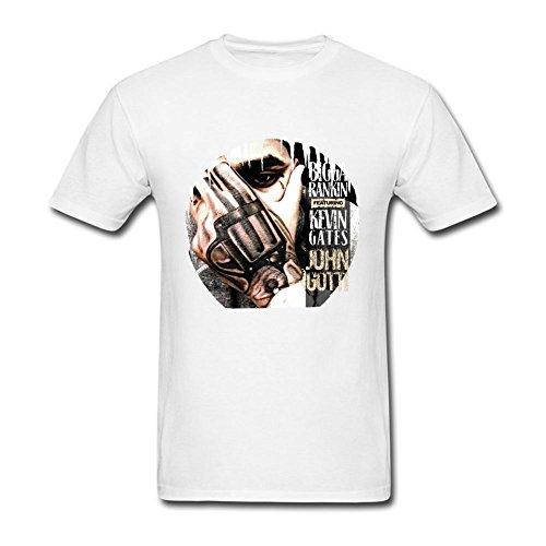 Men's Kevin Gates John Gotti Bigga Rankin T-Shirts (Kevin Gates John Gotti)