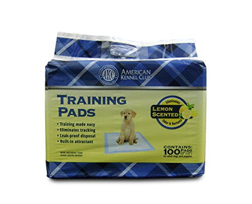 Image of American Kennel Club Lemon Scented Training Pads (Pack of 100)