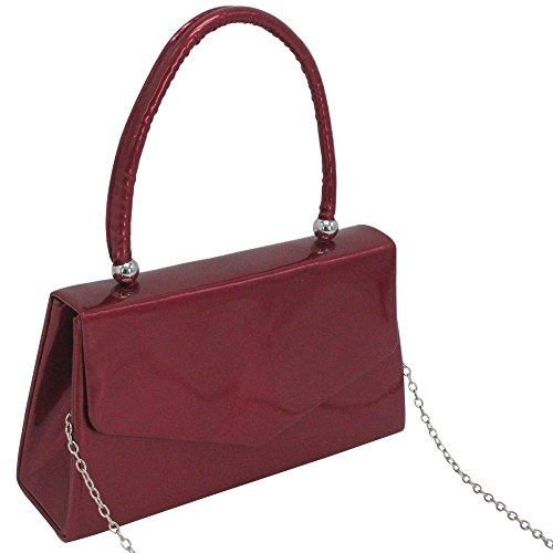 Ladies Cckuu Handle Hot Clutch Pink Handbag Evening Purple Wedding Classic Envelope Party Desgin Purse FffdRwq