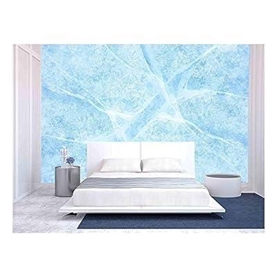 Wall26 - Texture of Ice of Baikal Lake - Canvas Art Wall Decor - 100