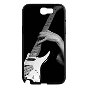 case Of Guitar Customized Bumper Plastic Hard Case For Samsung Galaxy Note 2 N7100