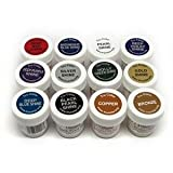 TruColor Airbrush Shine: Metallic Reserve Collection (Small Jar) 12Pc. Metallic Reserve