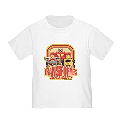 CafePress Transformers Retro Roll Out - Cute Toddler T-Shirt, 100% Cotton