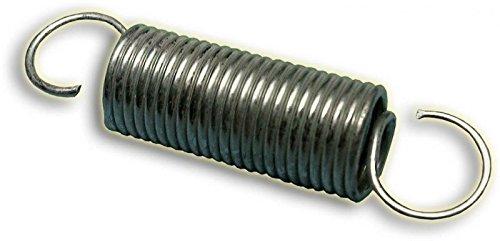 Auspufffeder, 53mm, silber verzinkt keep-racing®