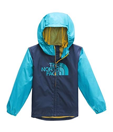 (The North Face Toddler Flurry Wind Jacket, Shady Blue, Size 2T)