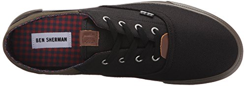 Ben Sherman Heren Steven Fashion Sneaker Zwart