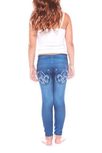 Girls Contrast Dance Pants - 4