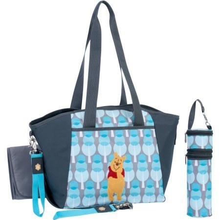 Disney Winnie the Pooh 5-in-1 Diaper Tote Set by Disney