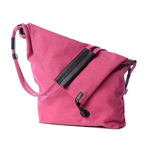 Greatan - Bolso estilo cartera para mujer azul azul Small rosa