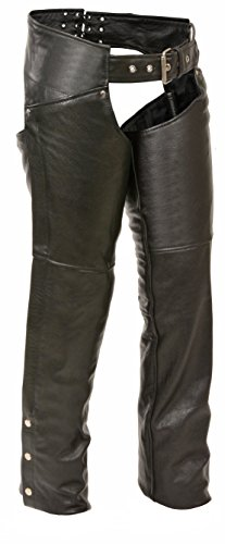 (Milwaukee Leather Women's Chaps (Black, Small))
