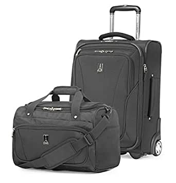 "Travelpro Inflight 20"" Mobile Office Luggage Set, Black"