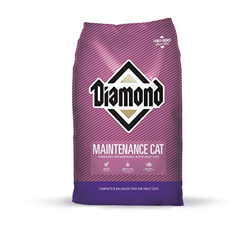 Diamond Premium Recipe Maintenance Complete And Balanced Dry Cat Food For Moderately Active Cats 20Lb ()