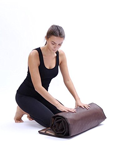 HealthyLine Far Infrared Heating Mat 72''x24'' Relieves Sore Muscles, Joints, Arthritis|Natural Jade & Tourmaline with Negative Ions|InfraMat Pro Most Flexible Model-Easy to roll-up(Light & Firm) by HealthyLine (Image #2)
