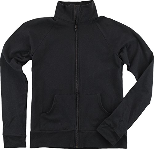 boxercraft Womens Practice Jacket (S89) -Black (Cadet Collar Jacket)
