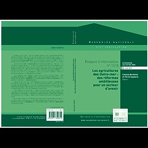 Rapport d'information sur les agricultures des Outre-mer (French Edition)