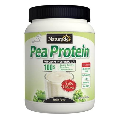 2 Packs of Naturade Pea Protein - Vanilla - Jug - 19.57 Oz