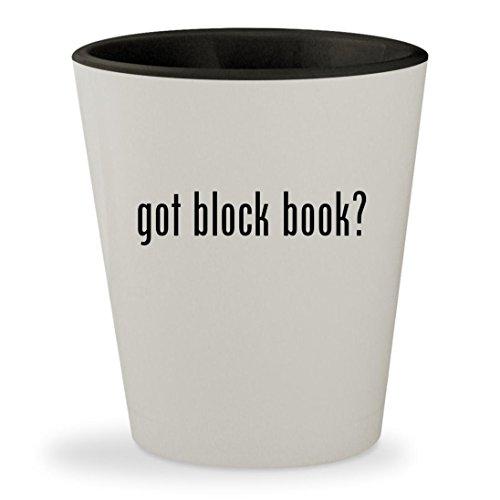 got block book? - White Outer & Black Inner Ceramic 1.5oz Sh