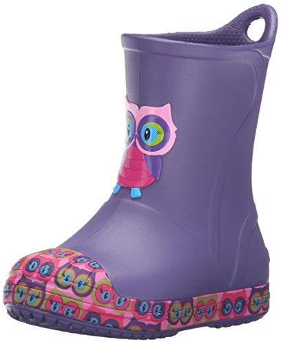 Crocs Bump It Graphic Rain Boot (Toddler/Little Kid)