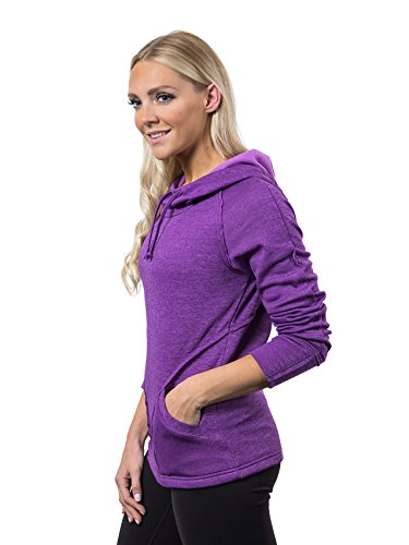 Alex+Abby Plus-Size Chill Chaser Hoodie XXX-Large Plum Purple Heather