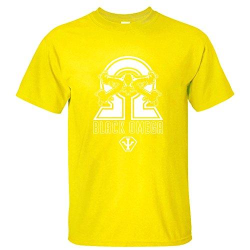 XLAND Short Sleeve Babylon 5 2 Men's Cool T-shirt yellow XXL