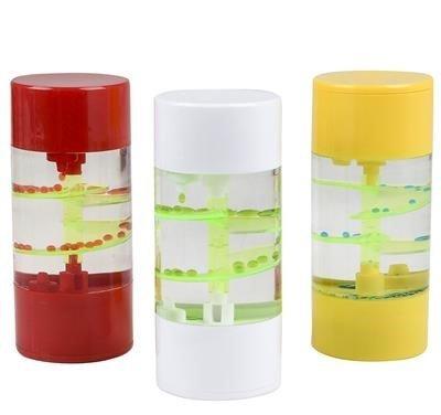 Liquid Motion espiral juguete con temporizador para Sensory Play, Relajante repetitivos movimiento burbuja Fidget juguete,...