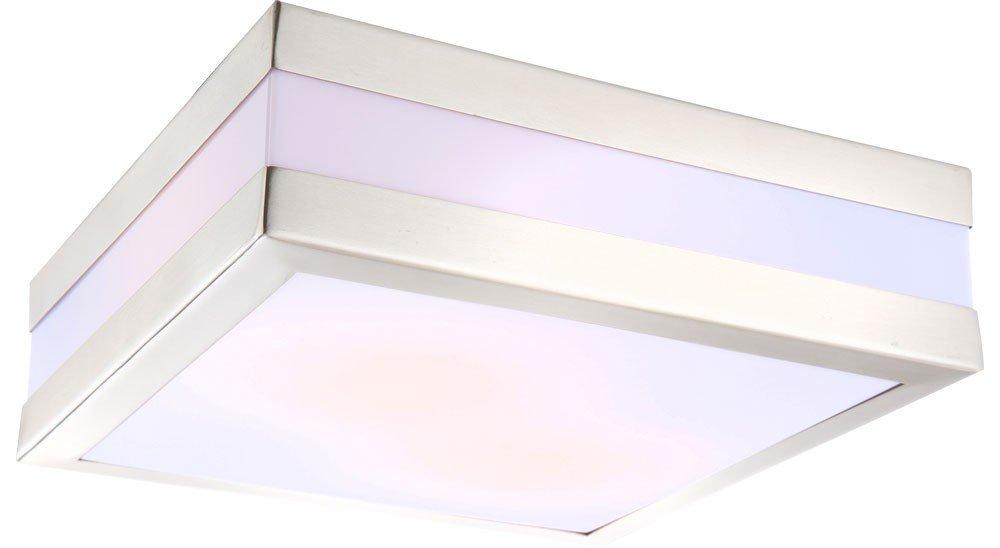LED 14 Watt Decken Beleuchtung Außen Lampe Edelstahl Leuchte Garten Licht IP44