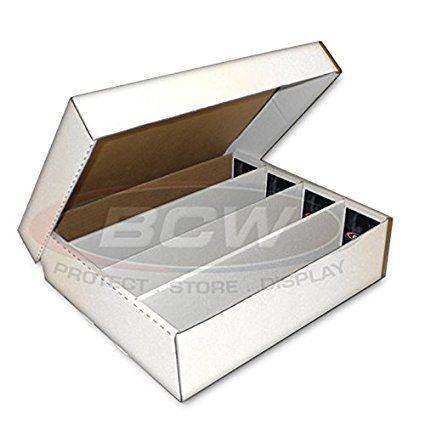 BCW Monster Storage Box, Holds 3200 trading cards 2-Pack
