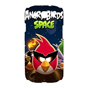 SamSung Galaxy S3 9300 phone cases White Angry Birds cell phone cases Beautiful gifts TRIJ2768024