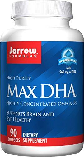 Jarrow Formulas Max DHA Softgels Pack